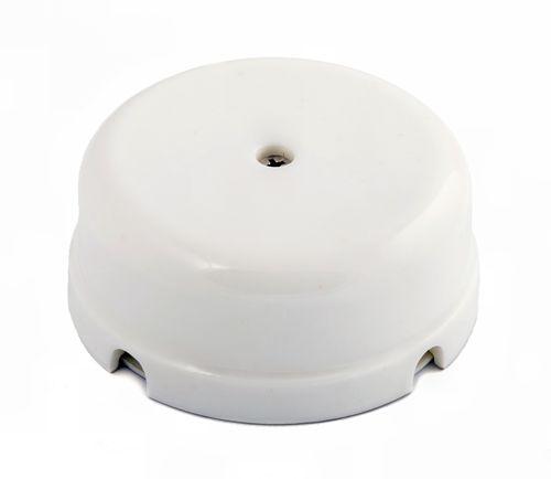 Коробка распаечная Ø80 мм Greenel GE70235-01, цвет белый