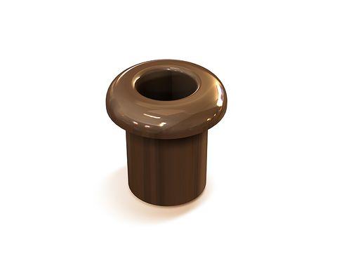 Втулка межстеновая Greenel GE70010-04, цвет коричневый