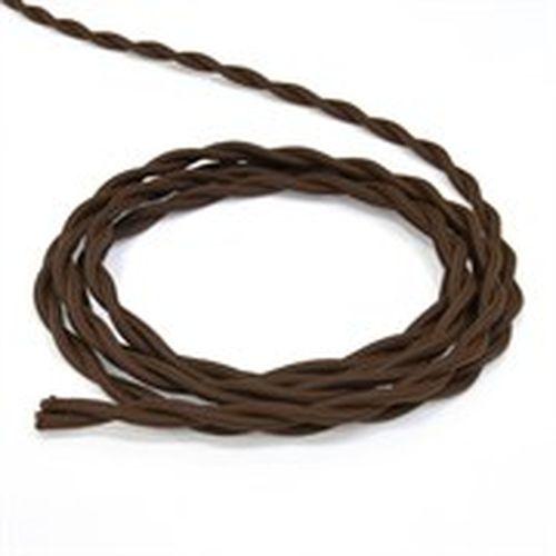 Провод электрический 2х2,5 Lindas 62242, цвет коричневый