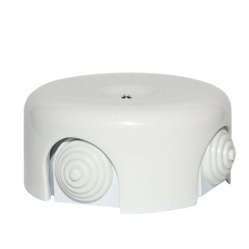 Коробка распаечная Ø95 мм Salvador BOX3WT, цвет белый