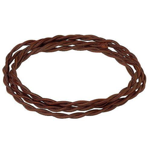 Провод электрический 2x2.5 Salvador CHO 2*2.5, цвет шоколад